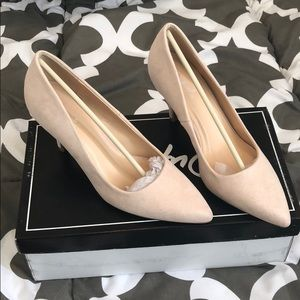 Women's Suede Pumps